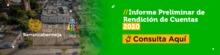 Banner Informe preliminar de rendición de cuentas 2020